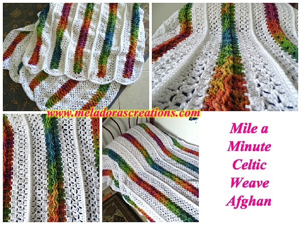 Easy Mile A Minute Crochet Afghan Patterns