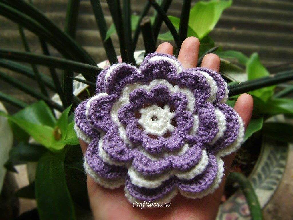 Flower Lace Crochet Pattern Tutorial
