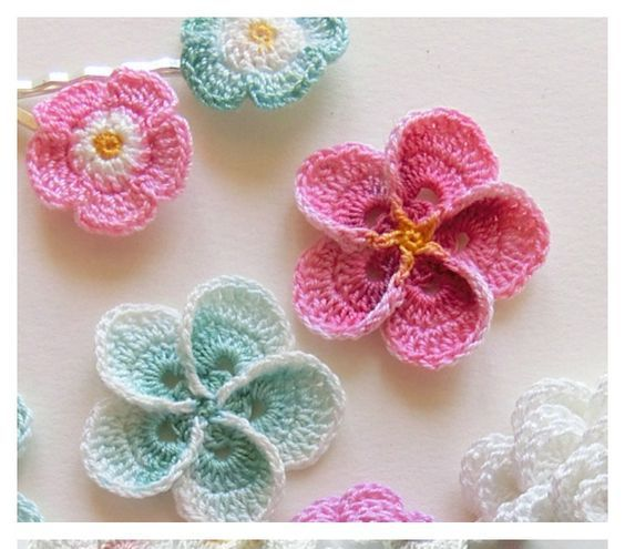 Hawaiian Flowers Crochet Patterns