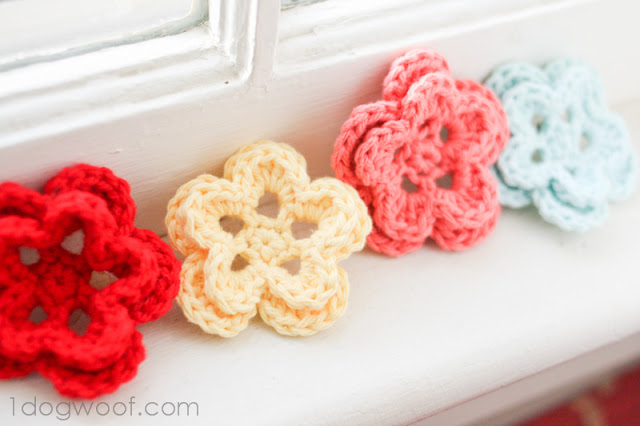 How To Crochet A Five Petal Flower