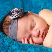 How To Make Flowers Out Of Ribbon For Baby Headbands