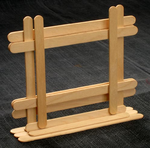 How to Make Popsicle Stick Frame