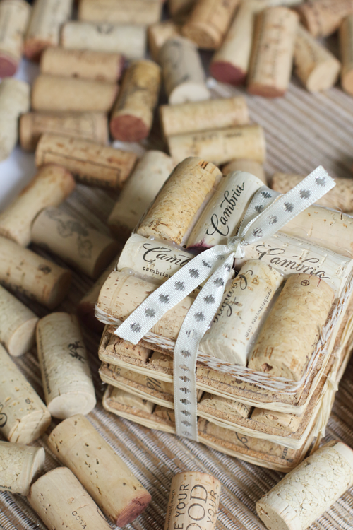 How to make Wine Cork Coaster Tutorial