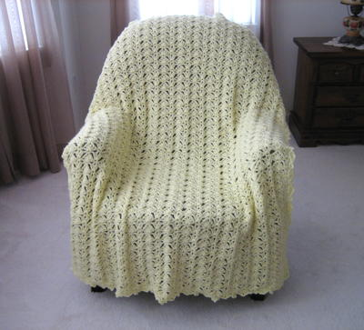 Lace Crochet Afghan Patterns Free