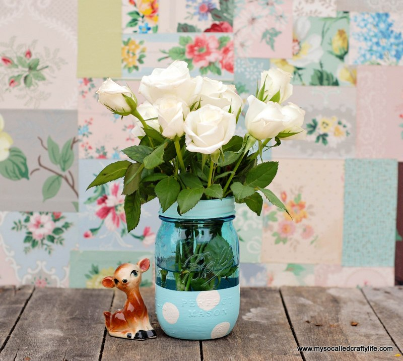 Mason Jar Flower Arrangements For Baby Shower Ideas