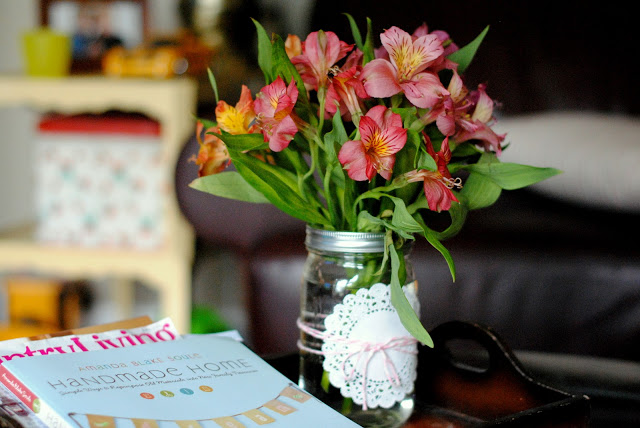 Mason Jar Flower Arrangements For Summer