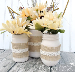 Mason Jar Flower Arrangements For Winter Ideas