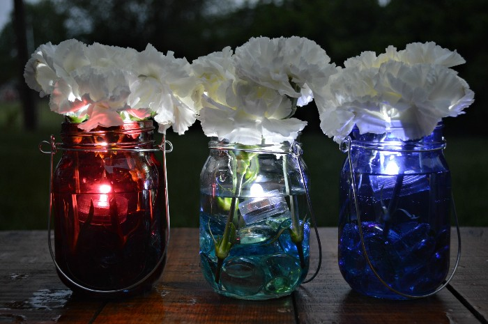 Mason Jar Flower Centerpieces Ideas