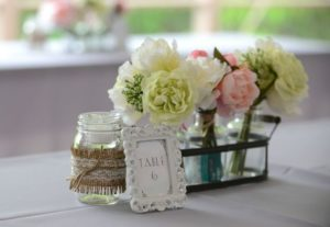 Mason Jar Silk Flower Arrangements Ideas