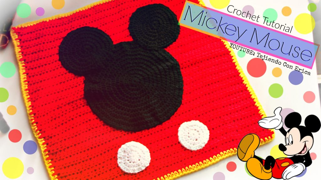 Mickey Mouse Crochet Afghan Pattern Free
