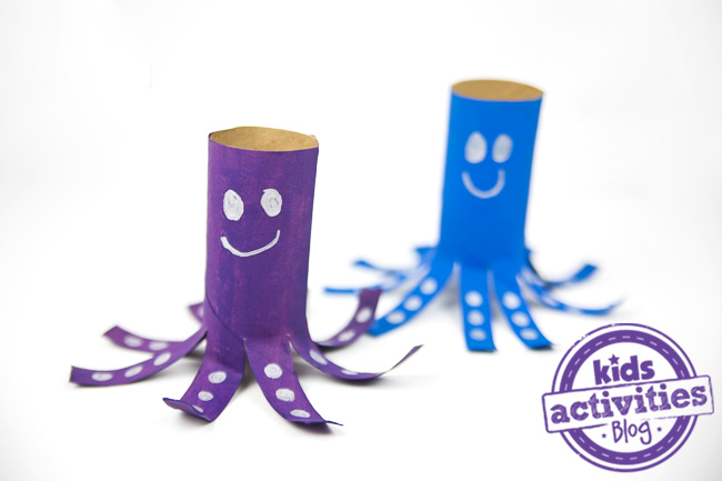 Octopus Toilet Paper Roll Craft DIY