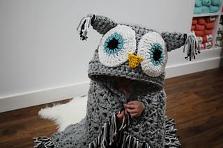 Owl Crochet Afghan Pattern