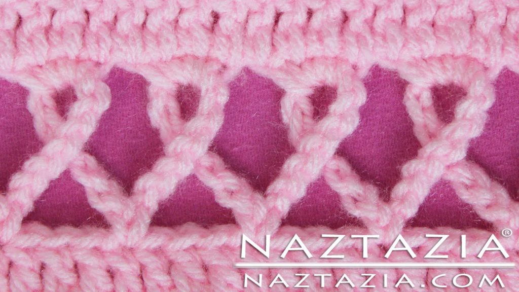 Pink Ribbon Crochet Afghan Pattern Video Tutorial