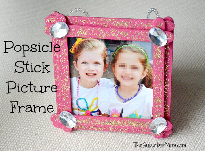 Popsicle Stick Frames Love Tutorials