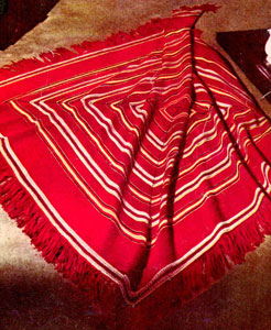 Red And White Crochet Afghan Patterns