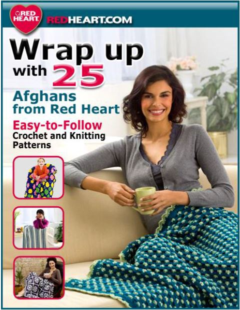 Red Heart Afghan Crochet Patterns