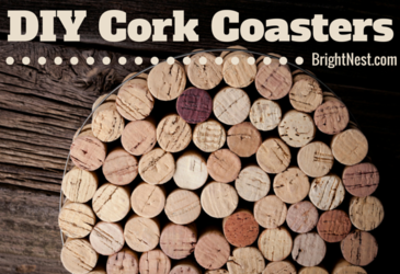 Simple Wine Cork Coasters Ideas