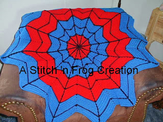 Spiderman Crochet Afghan Pattern