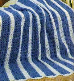 Striped Crochet Afghan Patterns
