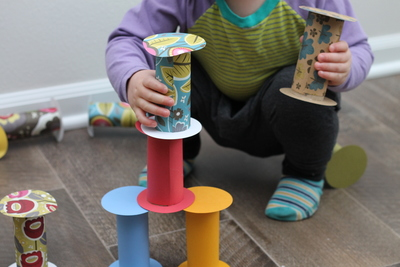 Toddler Crafts With Toilet Paper Rolls Easy