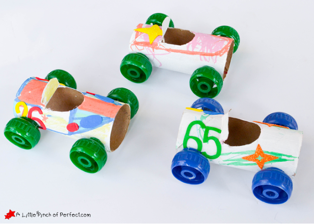 Toilet Paper Roll Crafts Cars DIY