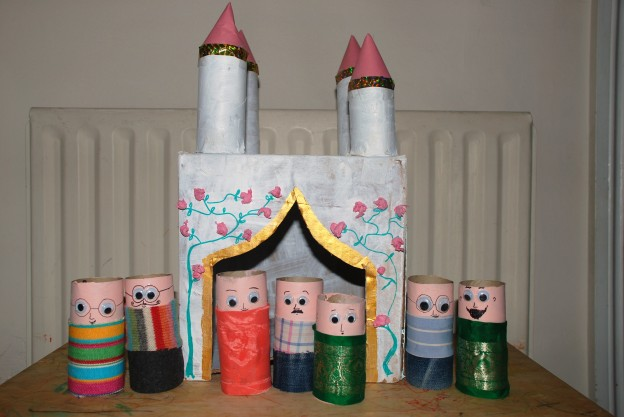 Toilet Paper Rolls Crafts for Preschoolers