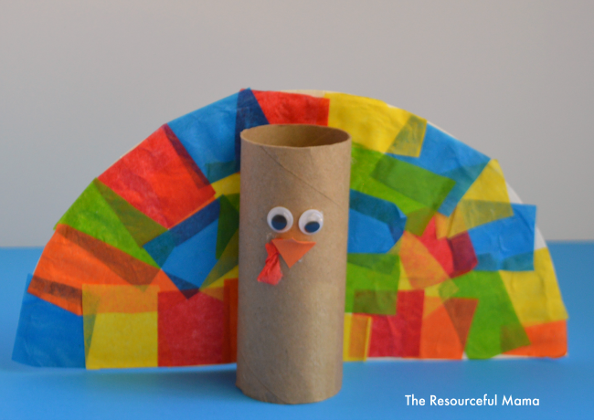 Turkey Craft With Toilet Paper Roll DIY