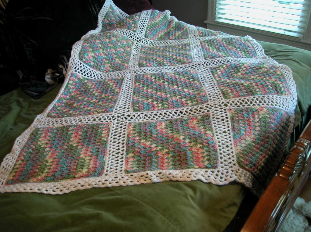 Variegated Yarn Crochet Afghan Patterns
