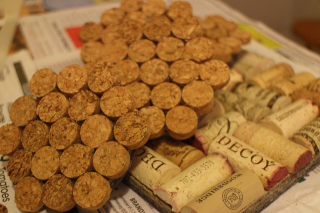 Wine Cork Coasters Hot Pads