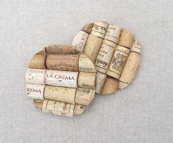 Wine Cork Coasters Tutorials