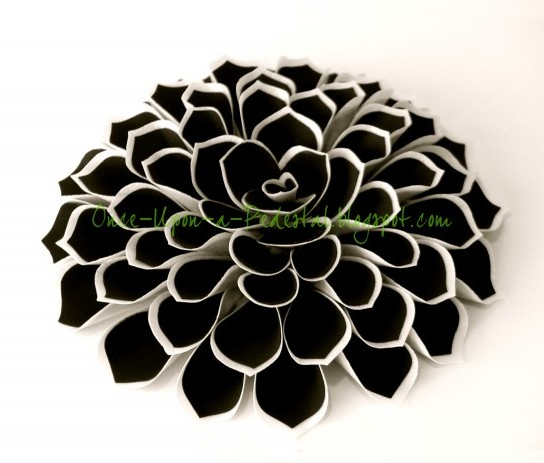 DIY Black Wafer Paper Fantasy Ideas