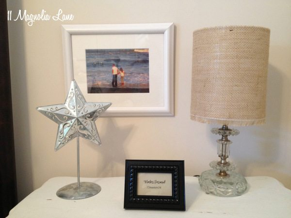 DIY Burlap Drum Lamp Shade Tutorial