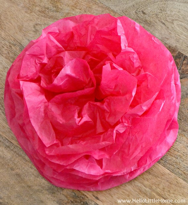 Decorative Pom Poms Tissue Paper