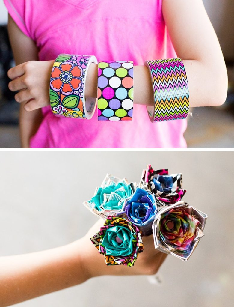 Different Types Of Duct Tape Flower Pens