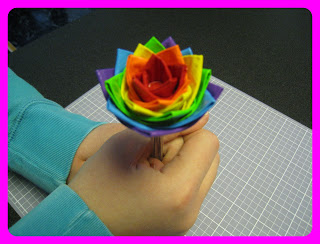 Duct Tape Flower Pen Ideas
