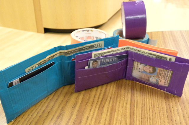 Easy Duct Tape Wallet