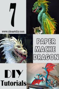 How to make a DIY Paper Mache Dragon