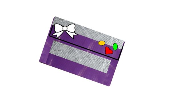 How to make a Duct Tape Clutch Wallet
