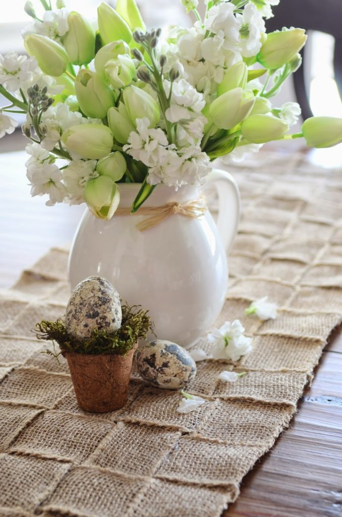 How to make burlap table runners for weddings