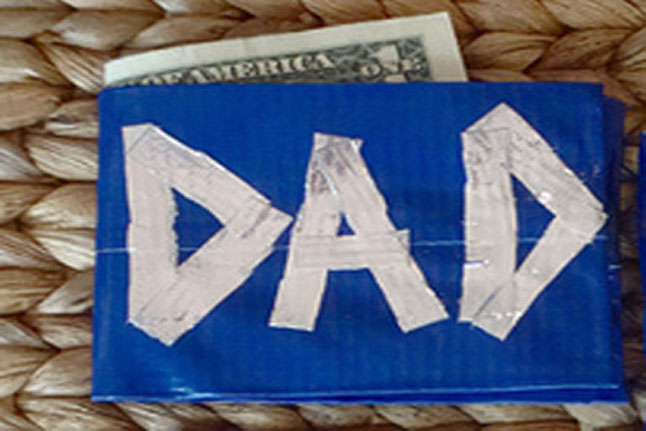 How to make duct tape wallet for kids