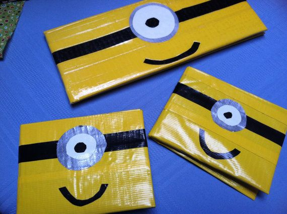 Minion Duct Tape Wallet