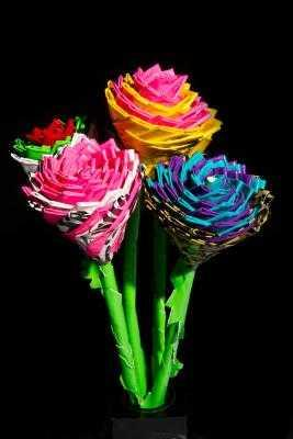 Pics OfDuct Tape Flower Pens