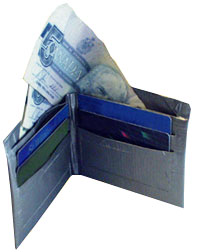 Simple Duct Tape Wallet Instructionss