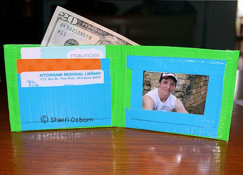 Small Duct Tape Wallets Tutorials