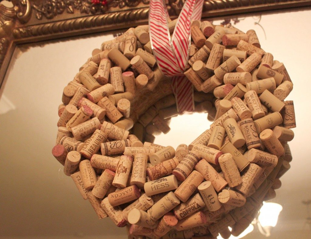 Small Wine Cork Wreath images