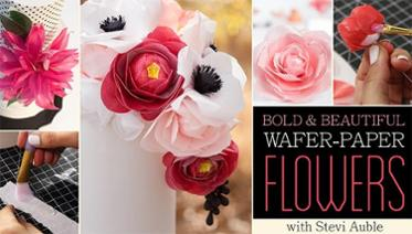 Wafer Paper Flowers Tutorials