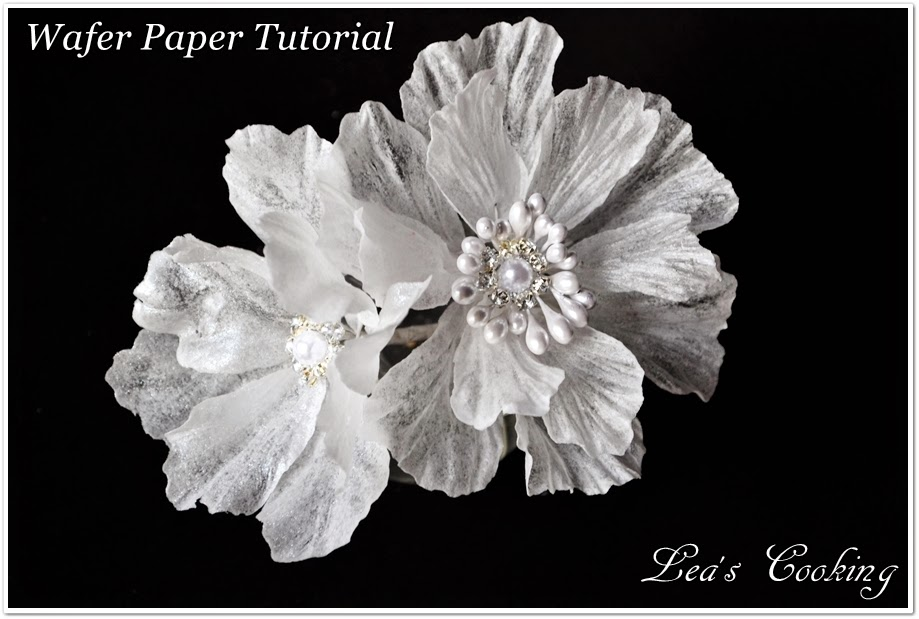 Wired Wafer Paper Flowers Ideas