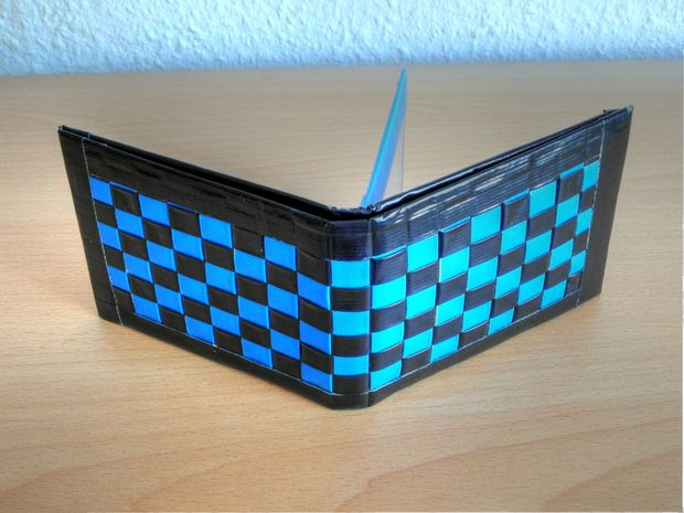 Woven Duct Tape Wallet