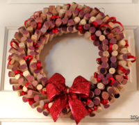 Wreaths Made from Wine Corks