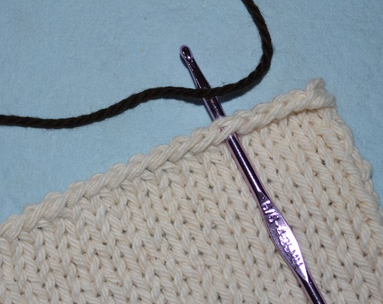 Adding a Crochet Border
